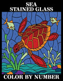 Sea Stained Glass Color by Number