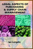 Legal Aspects of Purchasing and Supply Chain Management PDF