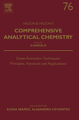 Green Extraction Techniques: Principles, Advances and Applications