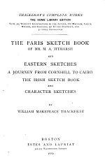 The Paris Sketch Book of Mr. M.A. Titmarsh