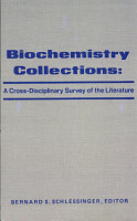 Biochemistry Collections  a Cross disciplinary Survey of the Literature PDF