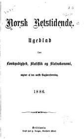 Norsk retstidende: Volum 51