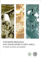 Integrated Irrigation and Aquaculture in West Africa PDF