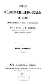 REVUE MEDICO-CHIRURGICALE DE PARIS