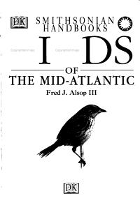 Birds of the Mid Atlantic