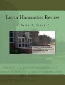 Levan Humanities Review  Volume 3