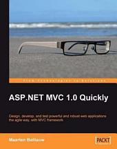 ASP. Net Mvc 1.0 Quickly