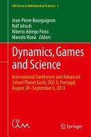 Dynamics  Games and Science PDF