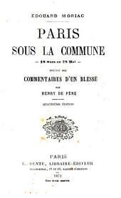 Paris sous la Commune, 18 mars au 28 mai