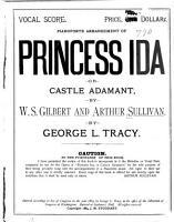 Princess Ida  Or  Castle Adamant PDF