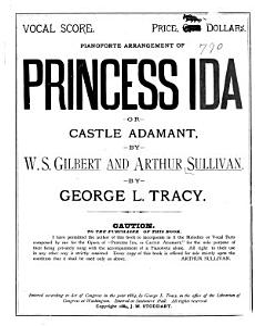 Princess Ida, Or, Castle Adamant Book