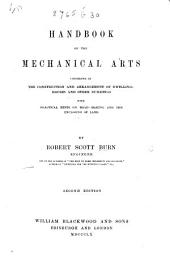 Handbook of the Mechanical Arts ... Second edition