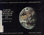 Earth Resources Program Synopsis of Activity