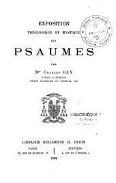 Exposition théologique et mystique des Psaumes