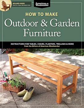 How to Make Outdoor   Garden Furniture PDF