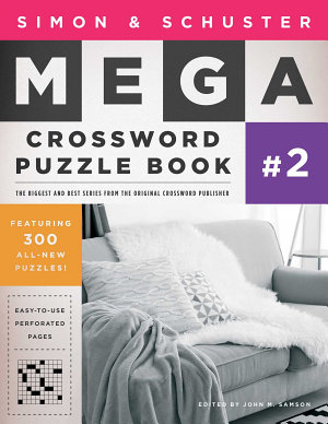 Simon   Schuster Mega Crossword Puzzle Book  2 PDF