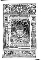 Editio secunda Johannis Maioris ... in secundum librum sententiarum ...