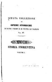 Storia fiorentina: Volumi 1-2