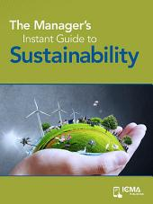 The Manager's Instant Guide to Sustainability