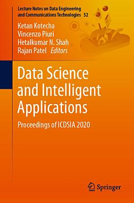 Data Science and Intelligent Applications PDF