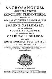 Sacrosanctum oecumenicum Concilium Tridentinum