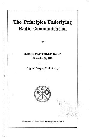 Radio Communication Pamphlet