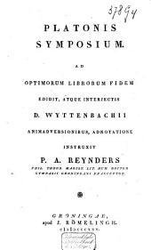 Platonis Symposium