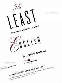 The Least You Should Know about English Writing Skills