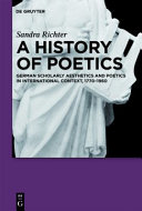 A History of Poetics PDF