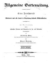 Allgemeine Gartenzeitung: Band 12