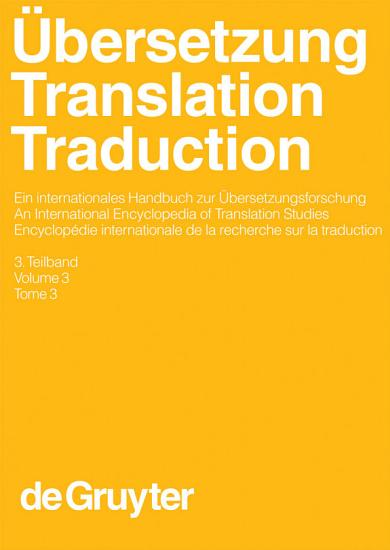 bersetzung   Translation   Traduction  3  Teilband PDF