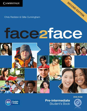 Face2face Pre intermediate Student s Book with DVD ROM