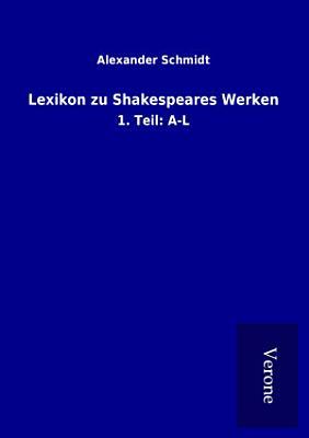 Lexikon zu Shakespeares Werken PDF