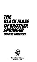 The Black Mass of Brother Springer