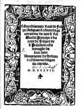 Libro chiamato Reali di Franza