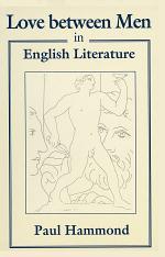 Love between Men in English Literature