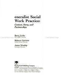 Generalist Social Work Practice PDF