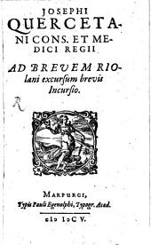 Ad brevem Riolani excursum brevis incursio