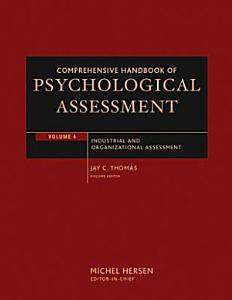 Comprehensive Handbook of Psychological Assessment  Volume 4 PDF