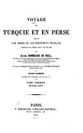 Voyage en Turquie et en Perse exécuté par ordre du gouvernement français: Volume1,Page2