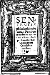 Sententiae philosophicae