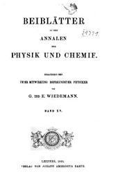 Beiblätter zu den Annalen der Physik: Band 15