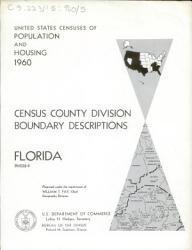 United States Census Of The Population And Housing 1960 Book PDF