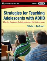Strategies for Teaching Adolescents with ADHD PDF