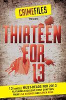 Thirteen for 13  A Free Sampler  PDF