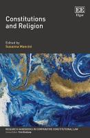 Constitutions and Religion PDF