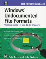 Windows Undocumented File Formats PDF