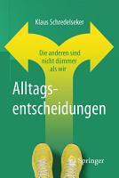 Alltagsentscheidungen PDF
