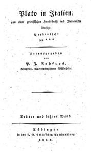 Plato in Italien PDF