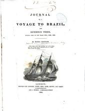 Journal of a Voyage to Brazil: And Residence There, During Part of the Years 1821, 1822, 1823
